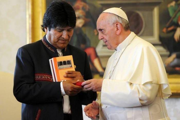 Reflejo sobre la religión en bolivia
